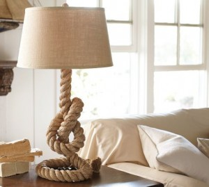 15 Rope lamp 300x269 35 Home DIY Projects That Won't Fail To Inspire You