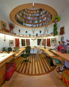 18 Office Library 238x300 35 Home DIY Projects That Won't Fail To Inspire You