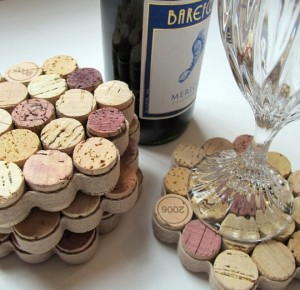 22 Cork Coasters 300x290 35 Home DIY Projects That Won't Fail To Inspire You