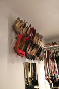 28 Shoe Hangers 199x300 35 Home DIY Projects That Won't Fail To Inspire You