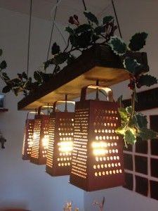29 Grater Light Shades 225x300 35 Home DIY Projects That Won't Fail To Inspire You