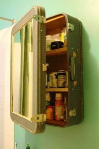 33 Suitcase Cabinet 200x300 35 Home DIY Projects That Won't Fail To Inspire You