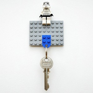 4 Lego Key Holder 300x300 35 Home DIY Projects That Won't Fail To Inspire You