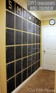 6 Wall Calendar 181x300 35 Home DIY Projects That Won't Fail To Inspire You