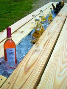7 Picnic Table Drinks Holder 225x300 35 Home DIY Projects That Won't Fail To Inspire You