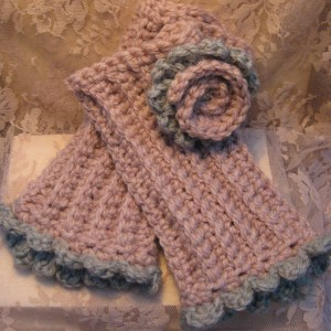 Hand Knitted Olga Scarves