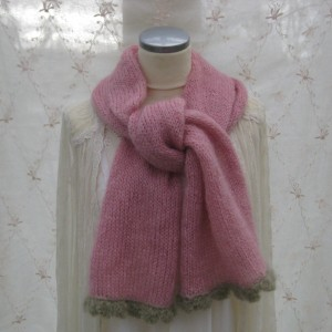 Hand knitted Lena Scarf