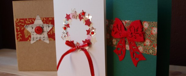 How to Make Your Own Christmas Cards   Latest Handmade 35F5sbrZ