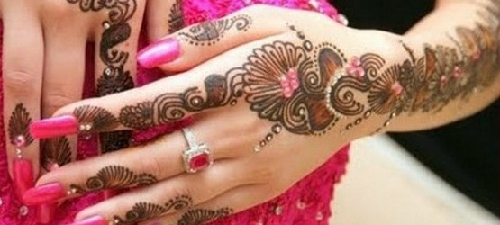Back Hand Mehandi Designs