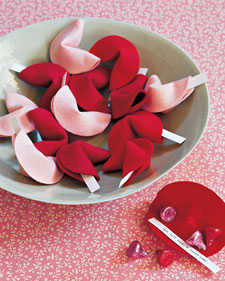 Felt Fortune Cookies 5 DIY Valentines Day Craft Ideas for Couples