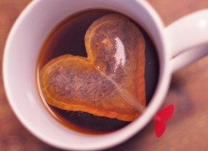 Heart Shaped Tea Bag in Cup 300x217 Valentine's Crafts