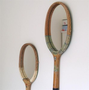 Beautify an Old Mirror with Waste Materials