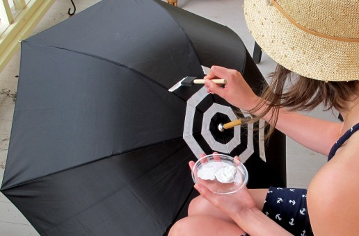 How to Make a Striped Umbrella – DIY Ideas