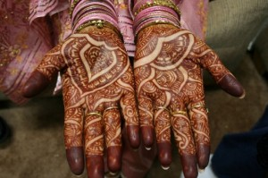Arabic Mehndi Designs for Brides