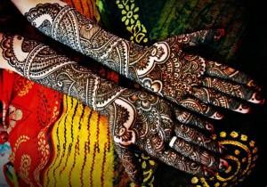 Complex Bridal Mehndi Desings