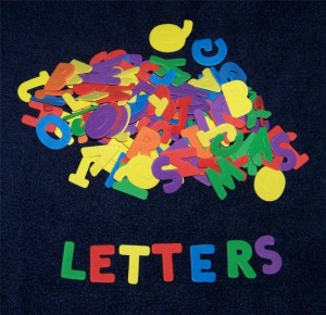 Craft Foam Letters 300x290 Handmade Pool Toys: Way Cooler Than Store Bought