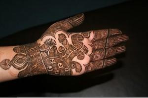 Fine Front Hand Bridal Mehndi Designs