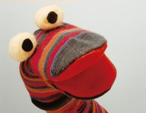 Handmade Socks Puppet 300x232 DIY: How to Make a Sock Puppet