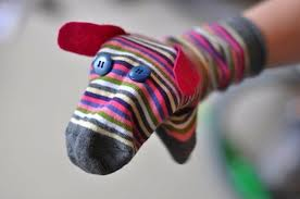 Sock Puppet Dog