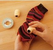 Sticking the Eyes DIY: How to Make a Sock Puppet