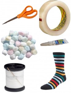 Stuff Required 231x300 DIY: How to Make a Sock Puppet