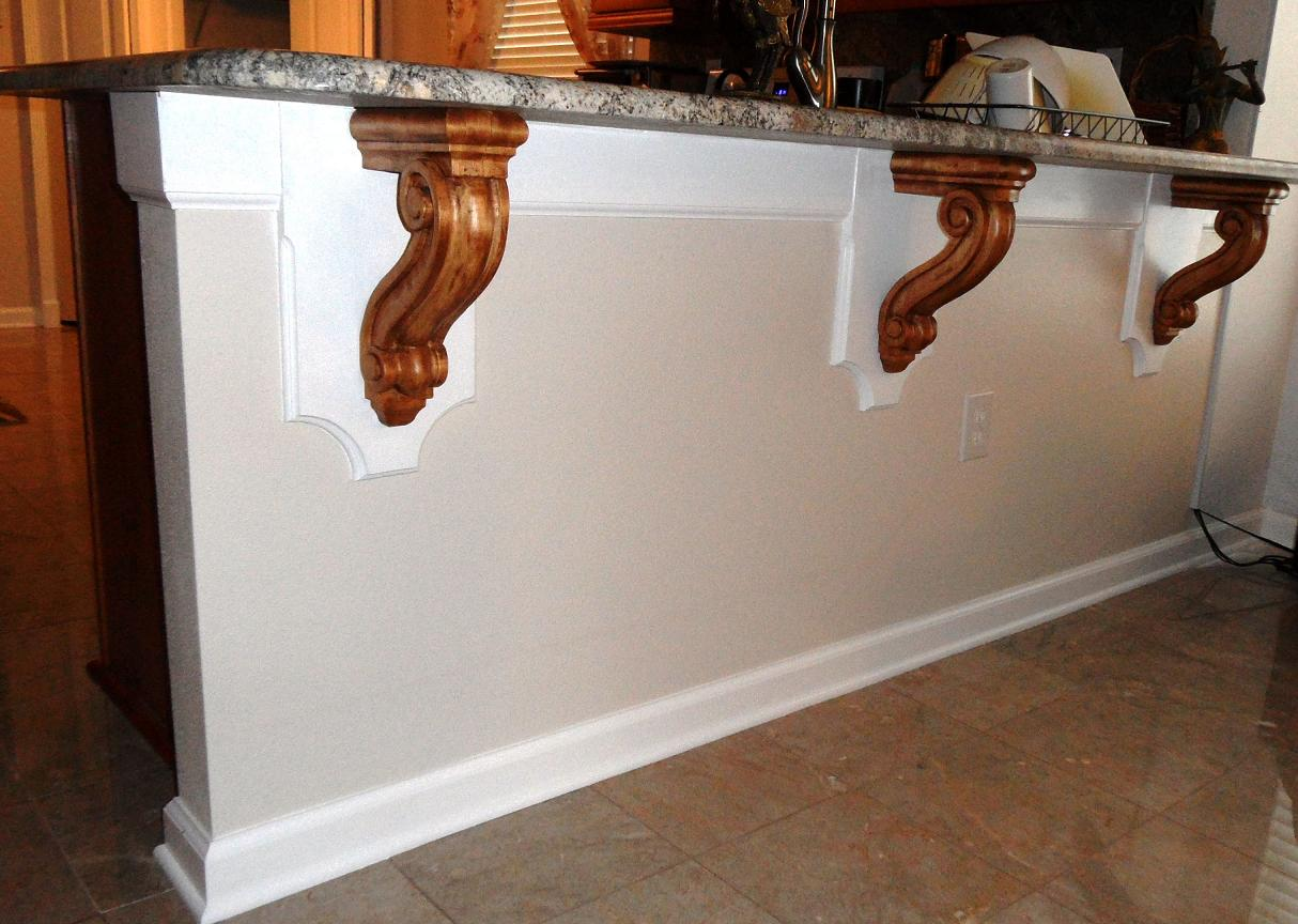 Diy Breakfast Bar Some Simple And Affordable Diy Upgrades For Home Latest Handmade
