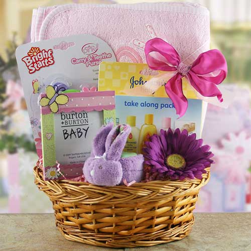 How to Make a Baby Gift Basket - Latest Handmade