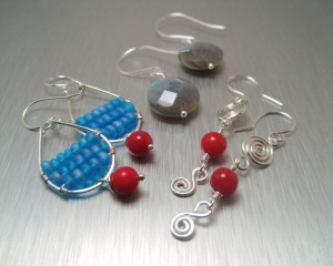 Simple Earrings 300x240 How to get Handmade Beaded Earrings