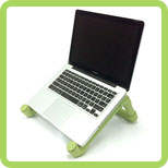 Step 5 Enjoy PVC Laptop Stand   DIY Ideas