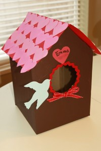 Valentine Bird House Box