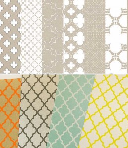 Different Quatrefoil Designs and Color Combinations 258x300 Making a Quatrefoil Design Rug Yourself   DIY Ideas