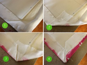 Fold the Exessive Fabric