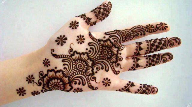 Simple Eid Mehndi Designs 2013 : Special wedding and eid mehndi designs latest handmade