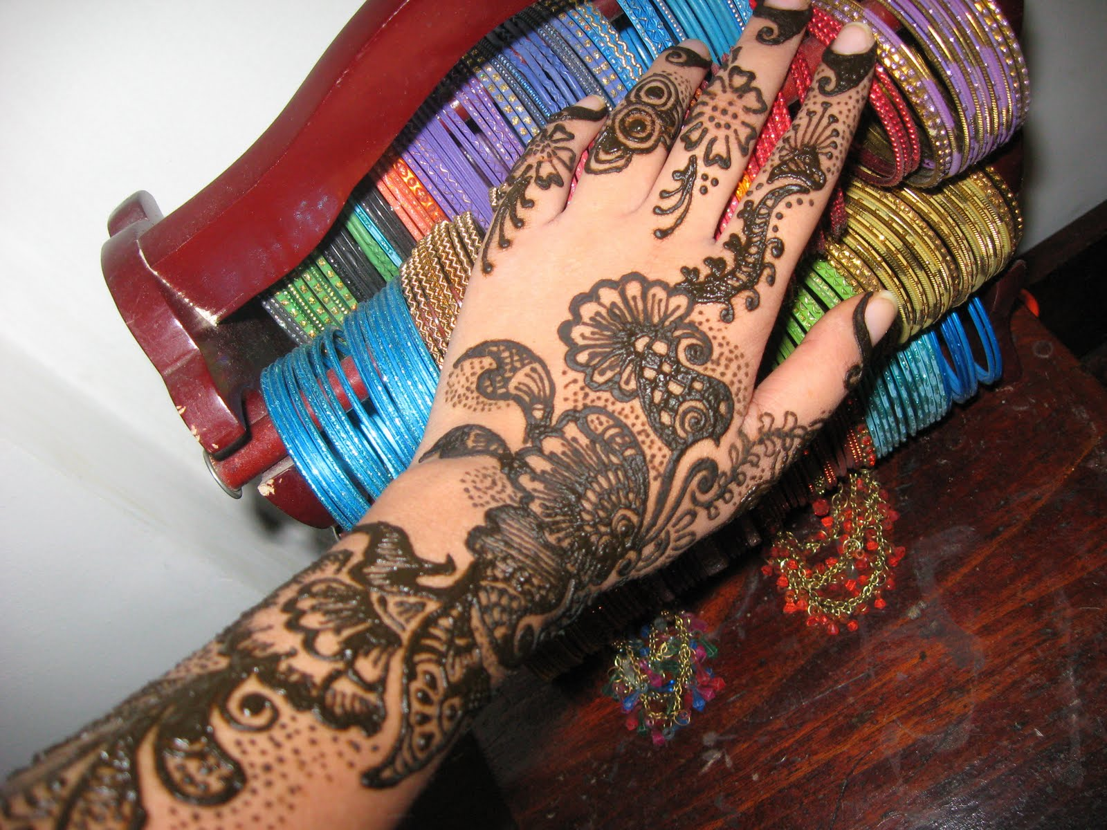 Latest Flower Mehndi Design : Special wedding and eid mehndi designs latest handmade