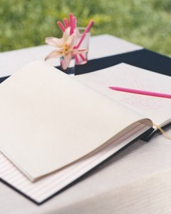 A Simple Guest Book for Any Occasion