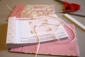 Crafted Guest Book