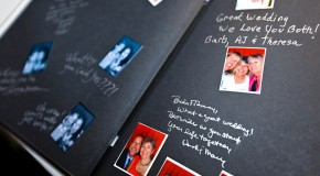Making Your Own Guest Book for Special Occasions