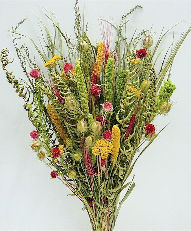 Flower Decor with Dry Flowers - Latest Handmade