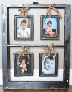 Old Frame Crafts 235x300 Thrifty Craft: Four Repurposed Materials for your Craft Project