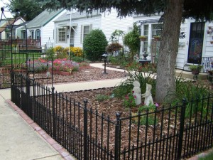Wrought Iron fences 300x225 Interesting Fence Ideas for Your Yard