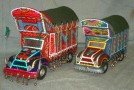 Handcrafted Truck Models from Pakistani Artists