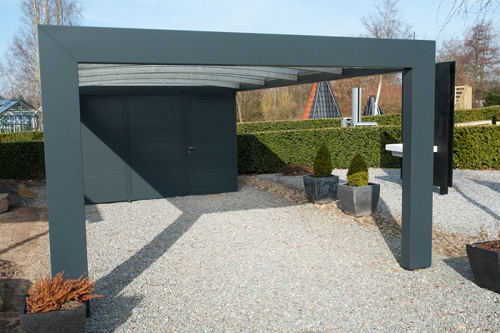 some excellent benefits of installing steel carports. Black Bedroom Furniture Sets. Home Design Ideas
