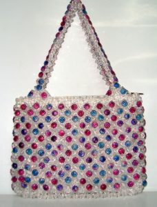 Crafted Bag with Beads