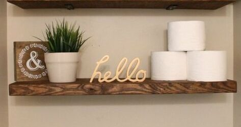 DIY Home Decor for the Bathroom
