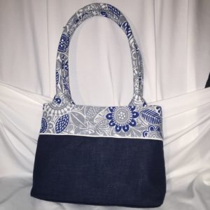 Handbag using Old Cloths