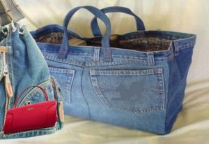 Jeans Handbags