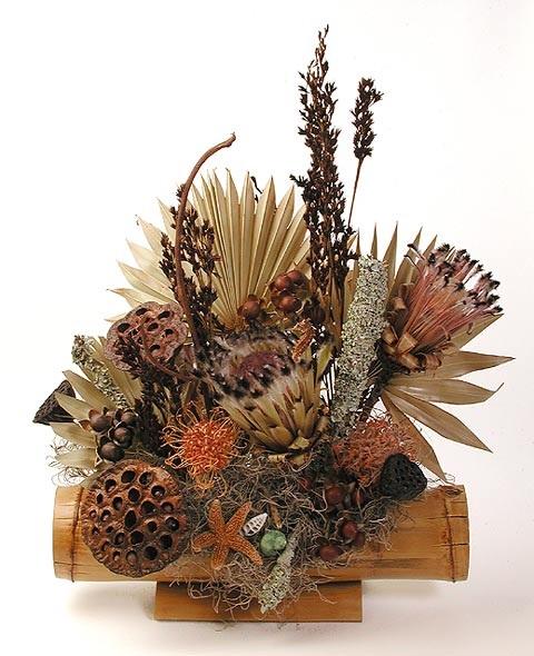 Dry Flowers Arrangement